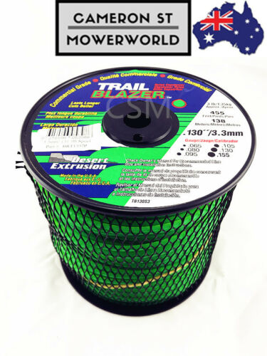 Whipper Snipper Trail Blazer Trimmer Line Cord .130'' 3.3mm 92 mtrs 0.9KG 2LB