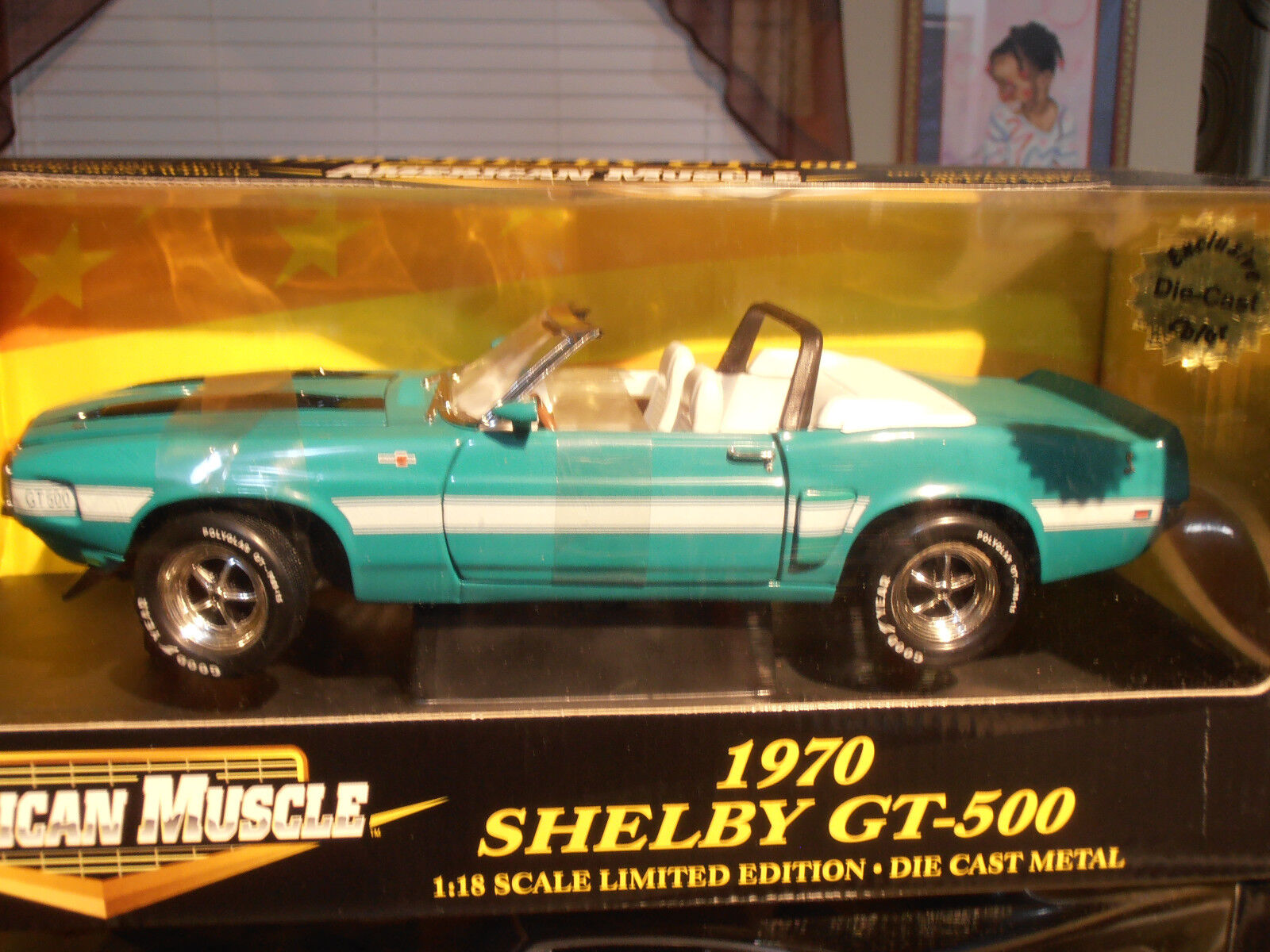 ERTL 1970 Ford Mustang Shelby GT-500 Congreenible