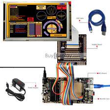 "8051 Microcontroller Development Board Kit USB Programmer for 8""TFT LCD Module"