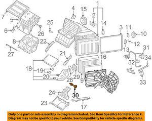 audi oem 09 15 q7 3 0l v6 a c ac evaporator heater drain tube rh ebay com 1990 Audi 100 Parts Audi 100 1997