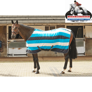 Details About John Whitaker Holywell V2 Newmarket Stripe Fleece Cooler Rug Free Uk S