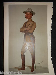 Original Victorian Vanity Fair Print of Robert Baden Powell  571900 Scouts - <span itemprop=availableAtOrFrom>Norwich, United Kingdom</span> - Returns not accepted unless misdescribed or otherwise agreed. Postage to be met by sender. Most purchases from business sellers are protected by the Consumer Contract Regulations 2013 whi - Norwich, United Kingdom