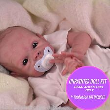 "Baby Joey Kit ~ sculpted by Tasha Edenholm an19"" reborn kit ~ Unpainted soft kit"