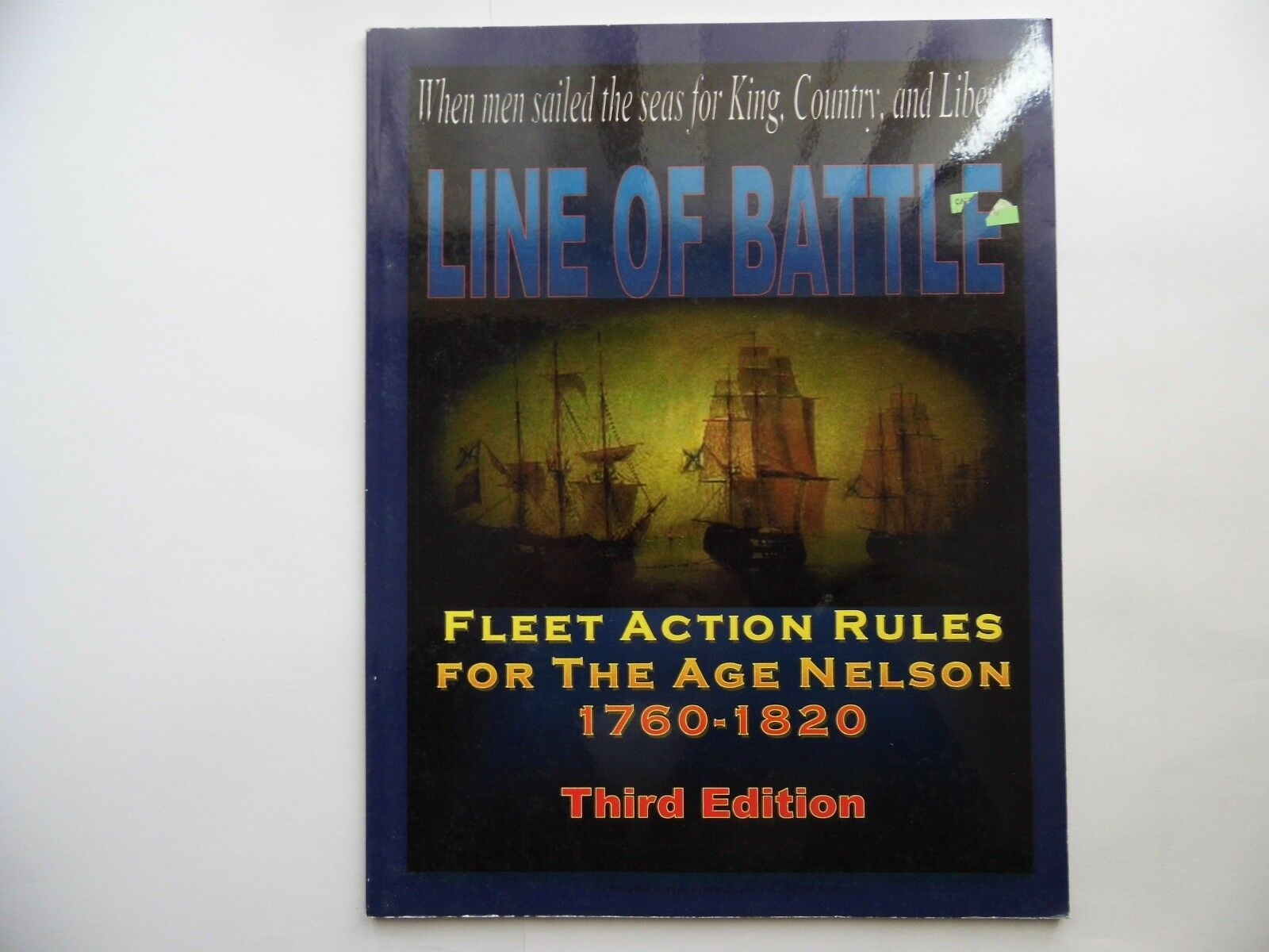 LINE OF BATTLE 3RD EITION - WARGAMES RULES - NEW NOT MINT