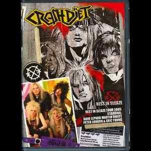 CRASHDIET-Rest-In-Sleaze-Tour-2005-DVD-Glam-Sleaze-Metal