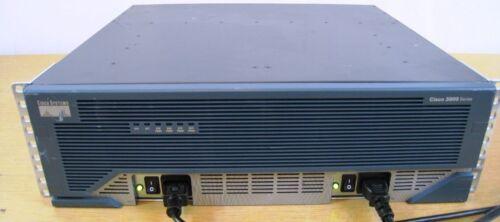 CISCO 3845 Intergrated Router IOS 15.1 1GBD//256MBF w// DUAL PwrSPLY AIM-VPN-SSL-3