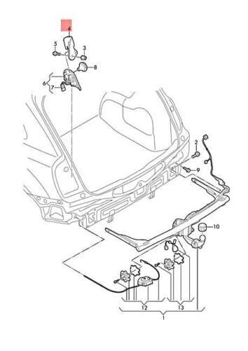 Genuine Bracket Left Inner AUDI Q3 Rsq3 8U0813685
