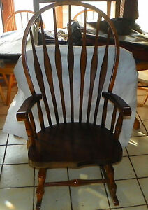 Image Is Loading Pine Virginia House Rocker Rocking Chair R225