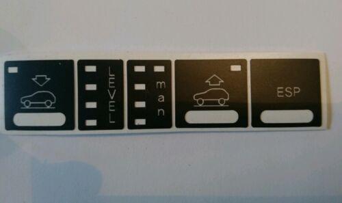 Audi A6 4b Allroad Niveauregulierungs Air Châssis Boutons Restaurations Set
