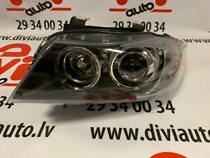 BMW-3-E90-E91-2005-2008-FRONT-HEADLIGHT-LAMP-LEFT-side-ZKW-brand-NEW-XENON
