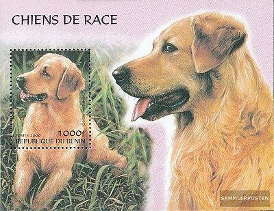 Africa Benin Miniature Sheet I Mint Never Hinged Mnh 2000 Breeds Stamps