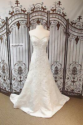 Motiviert W49 W Kollektion Jade Sz 14 Elfenbein Gold Formell Hochzeit Kleid Kleidung & Accessoires