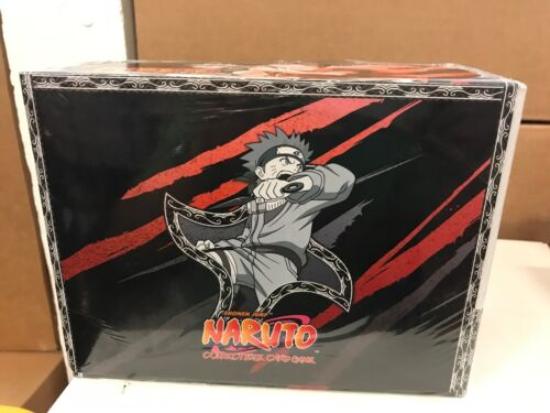 Naruto CCG TCG Curse Of The Sand Starter Deck Box Sealed 8-Decks