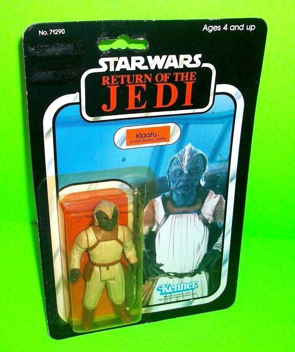 De Colección Klaatu en bote Guardia traje de Estrella wars regreso del Jedi rojoj Figura De Acción