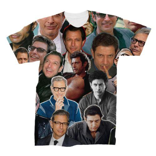Jeff Goldblum Photo Collage T-Shirt