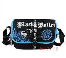 New Black ButlerⅡ Kuroshitsuji anime bag cosplay messenger shoulder school bag