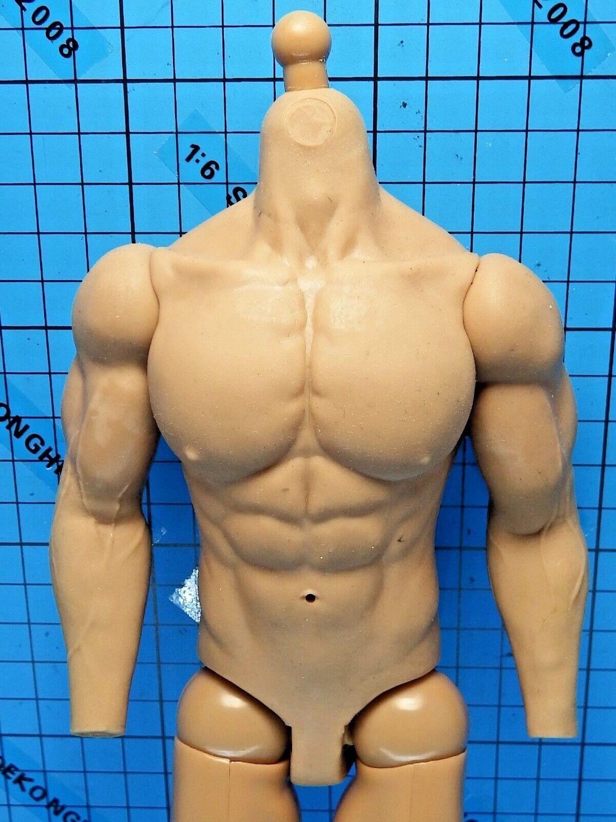 Hot Toys 1 6 Biohazard 5 VGM06 Chris Redfield BSAA Ver. Figure - Muscular Body
