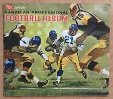 1963 POST CFL FOOTBALL ALBUM PARTIAL SET LOT 47/160 RUSS JACKSON JACKIE PARKER
