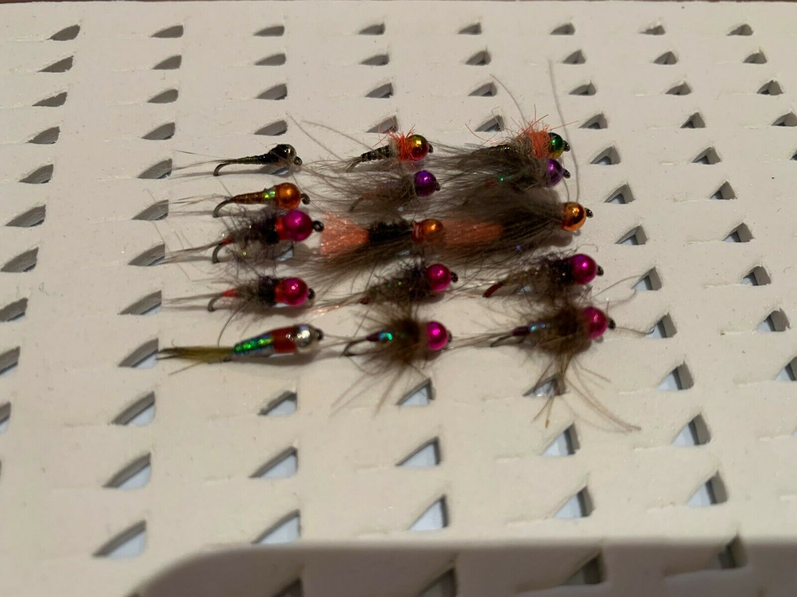 30 ninfas surtidas, anzuelo sin muerte. Pesca a mosca. FLY FISHING (19)