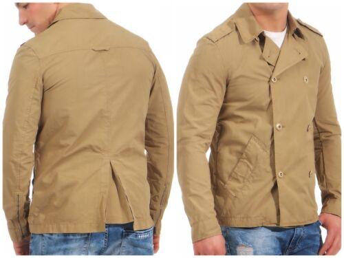 PATRIZIA PEPE Trench Desert Beige Veste Trench Style Messieurs Jacket 48 50 52