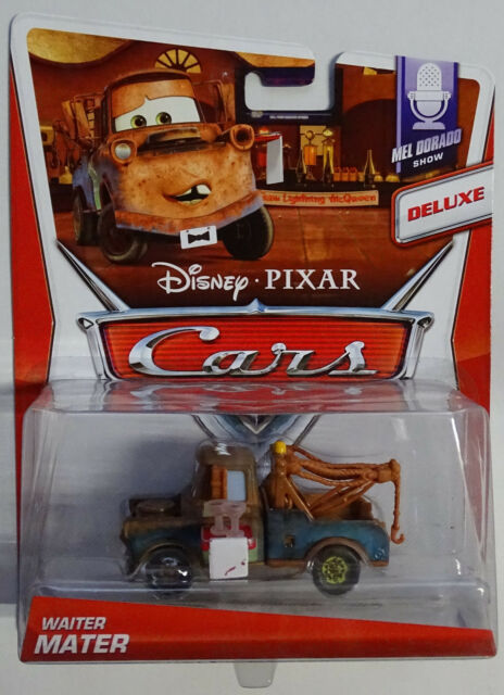 MATTEL® BDW68 Disney Cars Deluxe Waiter Mater