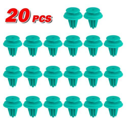 20pcs Hood Door Trim Panel Plastic Push Retainer Rivet for 97-16 Toyota Prius