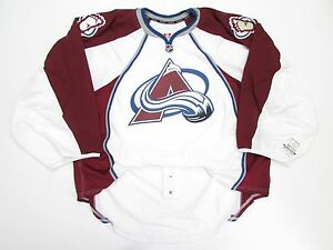 690f1f6c287 ... Jersey Image is loading COLORADO-AVALANCHE-AWAY-TEAM-ISSUED-REEBOK-EDGE  ...
