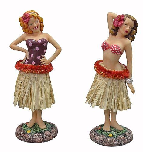 1 New Hawaiian 40's Retro Vintage-Styled Hula Pin Up Girl Car Dashboard Doll