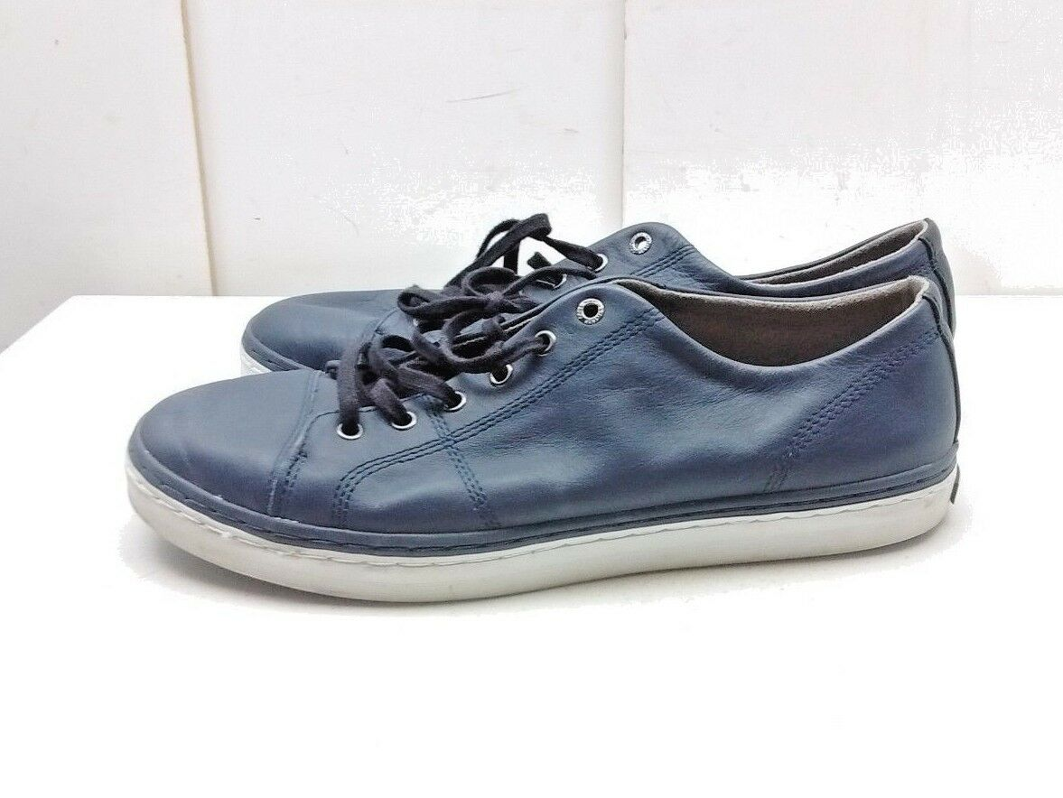 Cole Haan Grand Os Womens bluee Leather Laced Fashion Sneakers Casual shoes 11 B