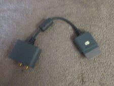 Genuine Original Microsoft XBox 360 Audio Adapter Cable - X808221-001  (9 T)