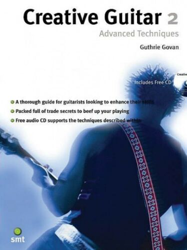 Creative Guitar 2 Advanced Techniques Book and CD NEW 014007763