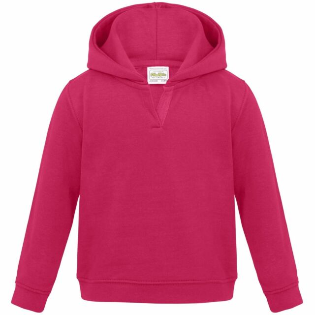 AWDis Hoods Plain Hooded Pullover with Pockets Baby SupaSoft Hoodie JH02B