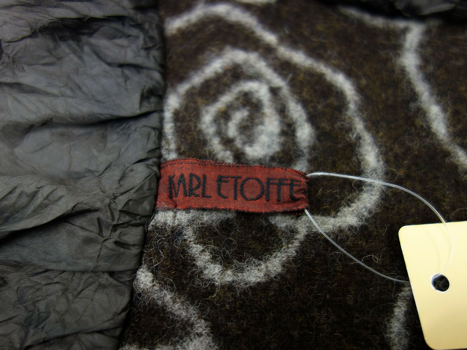 Karl Etoffe & Max Tessuti MRL Cardigan Cardigan Cardigan maglia giacca tg S 38 Marroneei beige 6de5ca