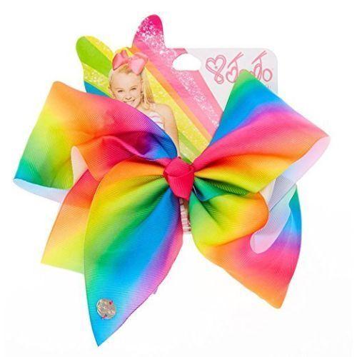 JoJo Siwa LARGE RAINBOW Signature Hair Bow Brand NEW 1st CLASS POST