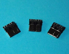 3 x USB 3.0 MICRO USB Stecker Connector 10Pin Solder Löten SMD SMT