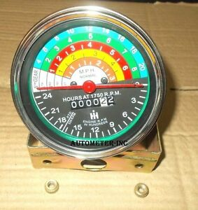 IH-Farmall-300-amp-350-Gas-Utility-Replacement-Tachometer-363829R91
