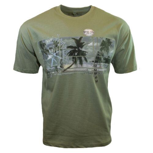 Mens Tee T Shirt M L XL 2XL Surfing Beach Hawaiian Relax Sleeve Bahama Beach NEW