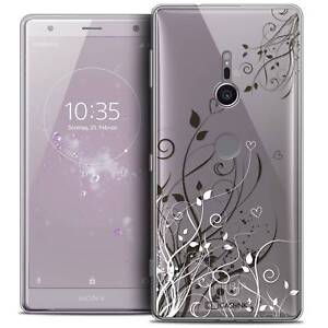 Coque-Crystal-Gel-Pour-Sony-Xperia-XZ2-5-7-034-Souple-Love-Hearts-Flowers
