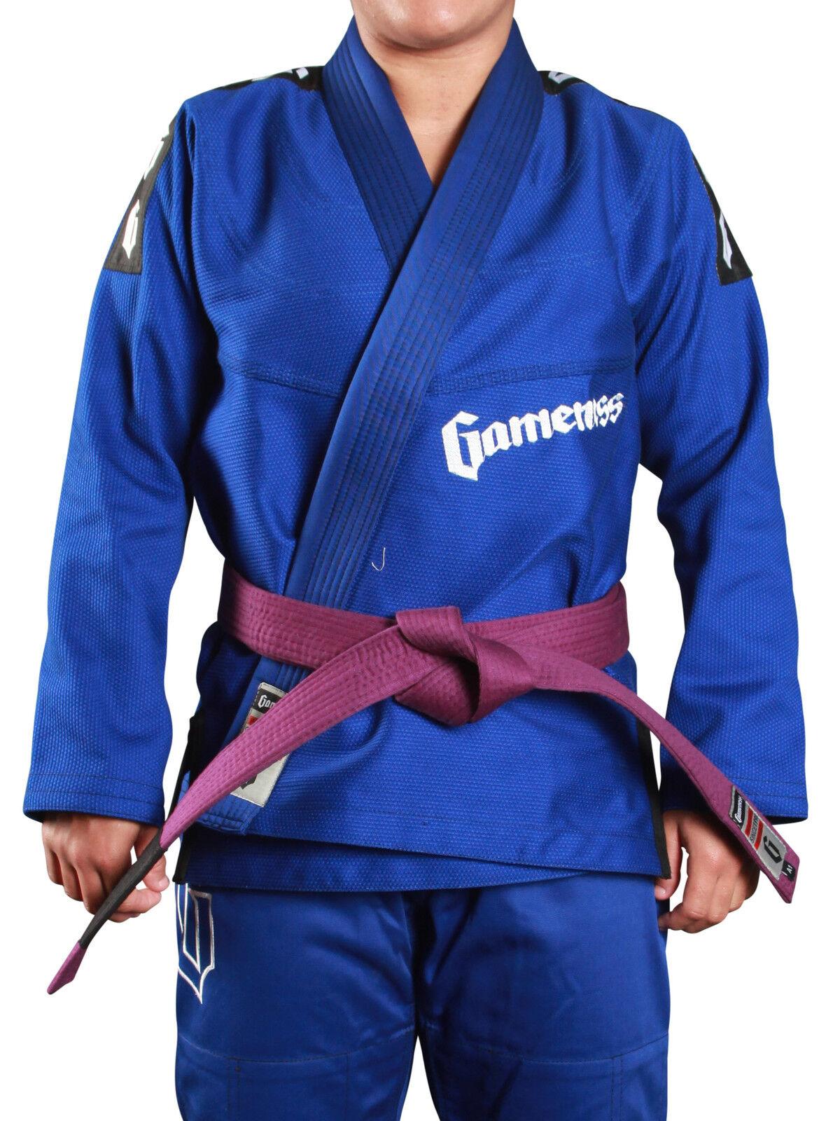Gameness bluee Female Pearl Jiu Jitsu Gi