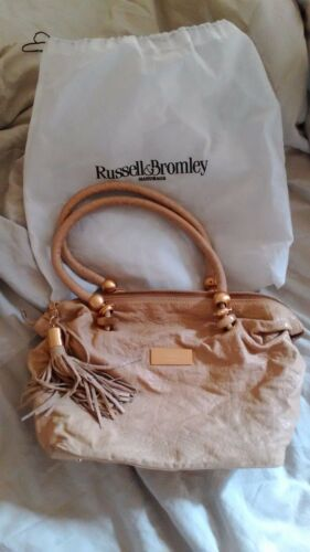 Hand amp; Leather Bromley Nude Bag Russell w0qgPY