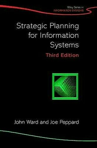 Strategische Planung Für Informationen Systeme Hardcover John Ward