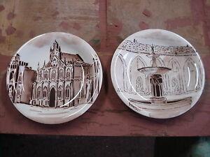 Lotto piatti piatto vintage racconigi ceramica castello dei