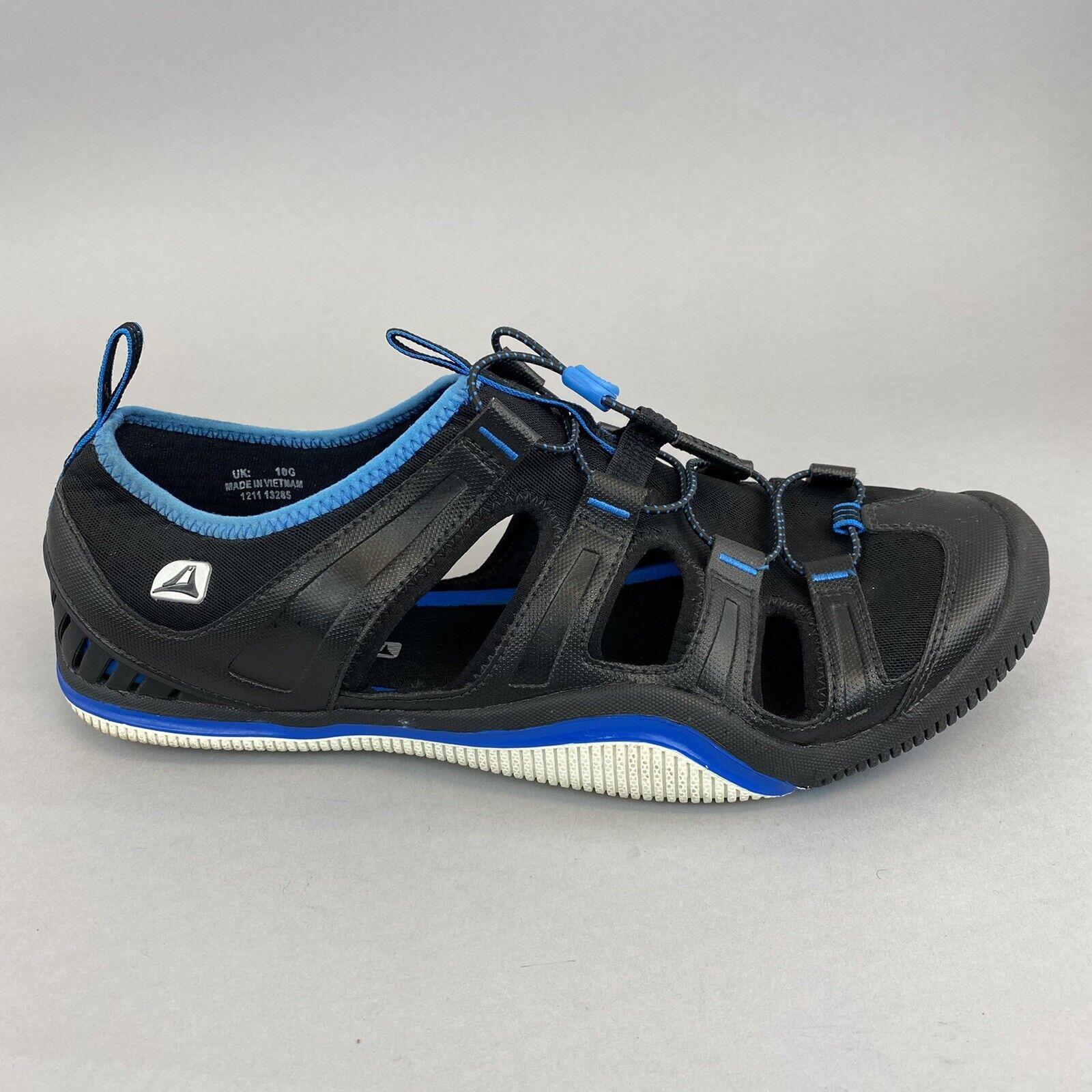 CLARKS ROCK Black Blue Walking Summer Holiday Beach Camping Sandals Shoes UK10 G