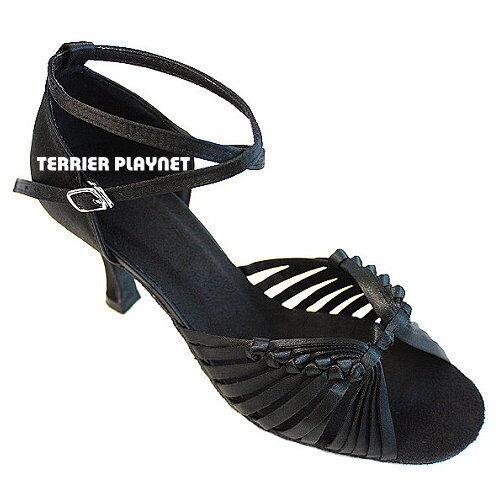 TPS Latin Ballroom Salsa Custom-made Dance Shoes D413