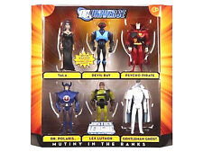 DC UNIVERSE Justice League Unlimited__MUTINY IN THE RANKS Box Set with 6 figures