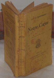 GUY-DE-MAUPASSANT-NOTRE-COEUR-ROMANZO-COMPLETO-1896