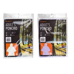 Angelsport Hell Einweg Erwachsene Poncho Regenjacke Regenmantel Unisex Regencape Notfall Damen Die Neueste Mode Bekleidung