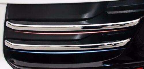 Chrome Car Front Fog Lamp Decal Frame Cover Trim Strips 4pcs for Audi Q5 2013-15