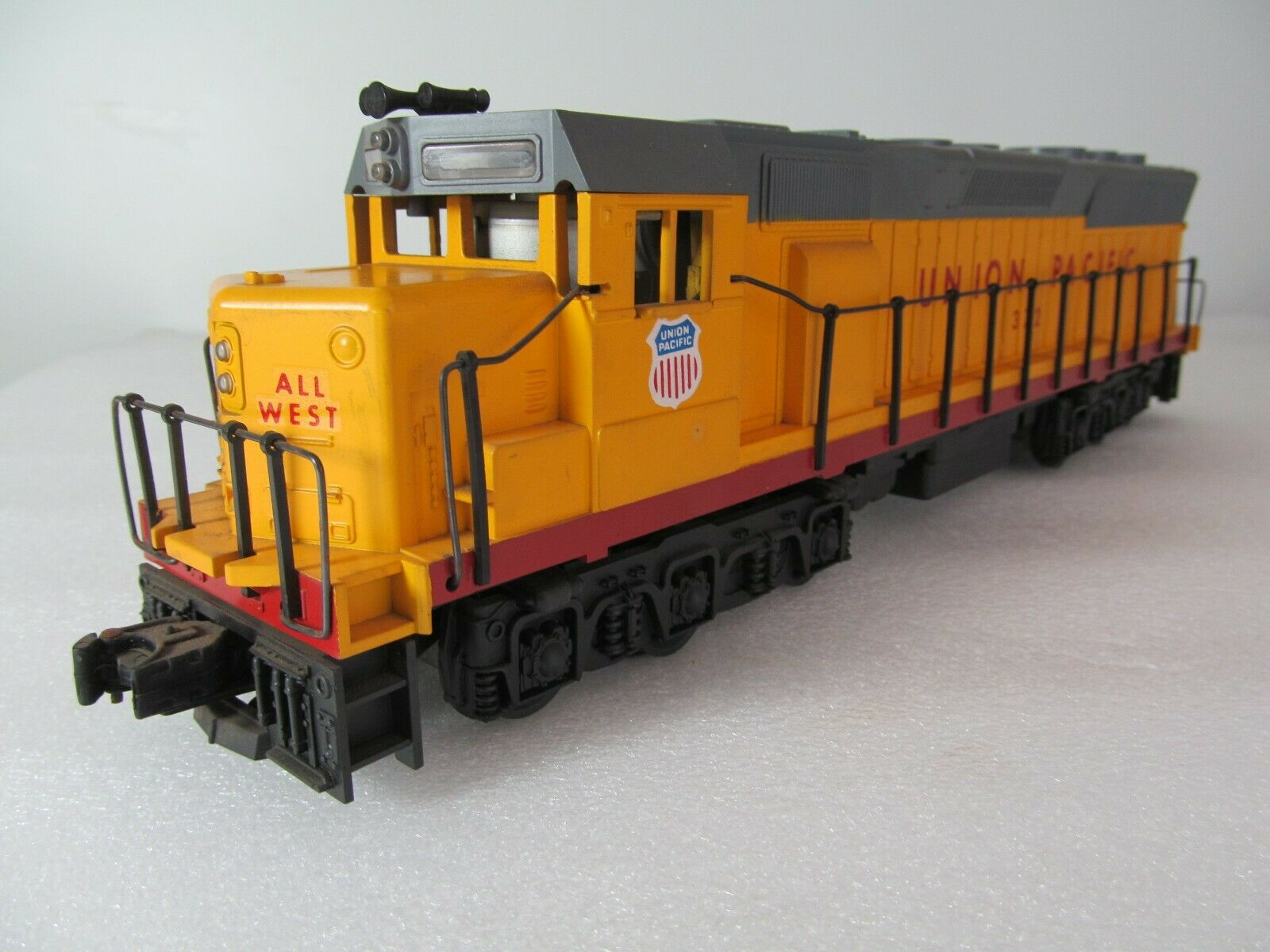 Union Pacific Tren Vintage Williams trenes Motor Diesel Locomotora Maestro