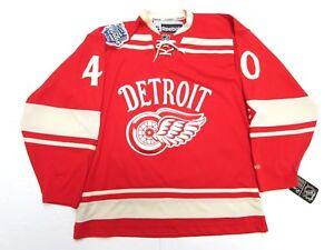 f9e11e1bd HENRIK ZETTERBERG DETROIT RED WINGS 2014 NHL WINTER CLASSIC REEBOK ...